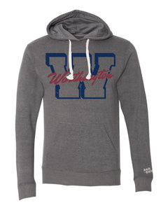 Worthington Block W Unisex Hoodie | Heather Grey