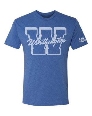 Worthington Block W Unisex Tee | Vintage Royal