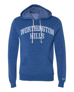 WH Block Adult Royal Blue Hoodie