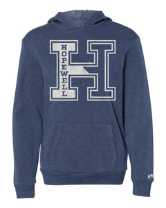 "Youth Unisex Hopewell Block ""H"" Hoodie"