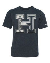 "Load image into Gallery viewer, Youth Unisex Hopewell Block ""H"" Tee 