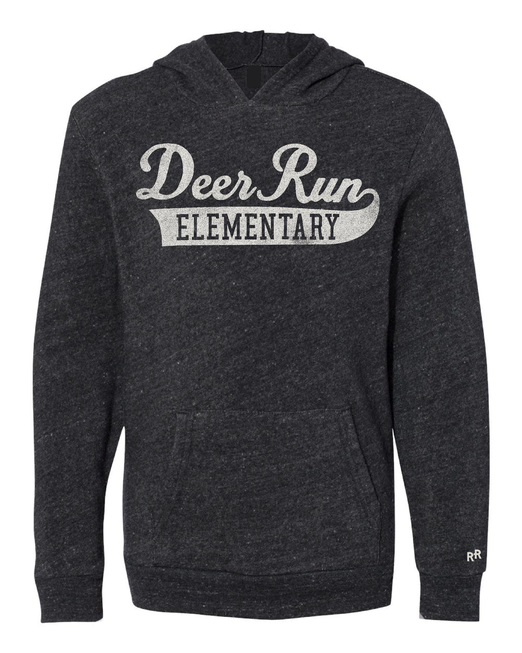 Youth Script Deer Run Unisex Hoodie