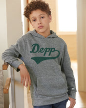 Load image into Gallery viewer, Youth Script Depp Hoodie | Triblend Unisex