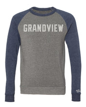 Load image into Gallery viewer, Grandview Colorblock Sweatshirt | Vintage White