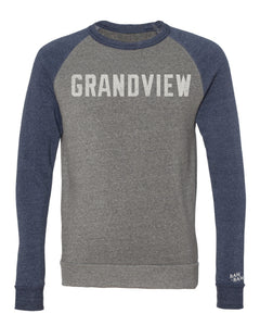 Grandview Colorblock Sweatshirt | Vintage White