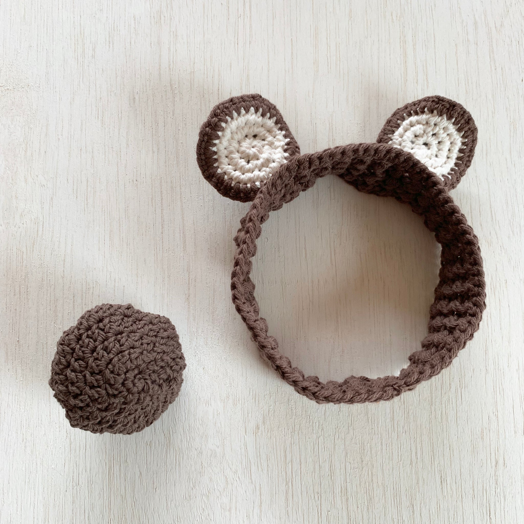 Bear Headband and Tail