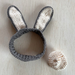Bunny Headband and Tail