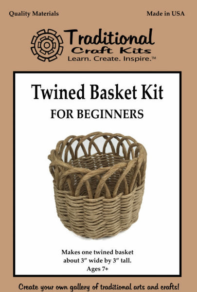Twined Basket Kit for Beginners