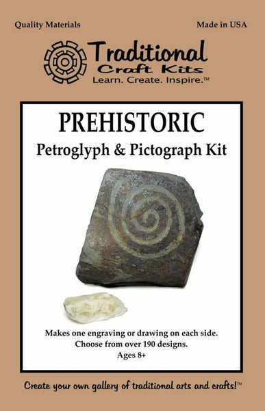 Prehistoric Petroglyphs and Pictograph Kit