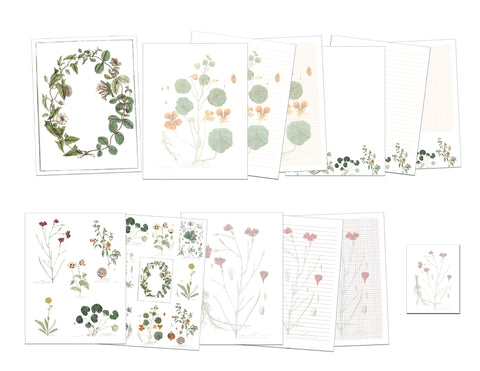Vintage Botanical Journaling and Planner Printable