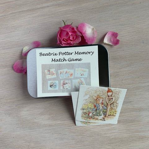 Beatrix Potter Matching Game - Juniper Earth