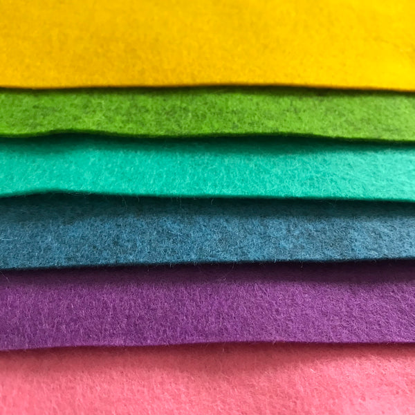 Wool Felt Sheets - Juniper Earth