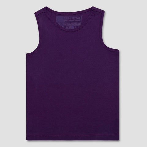 Organic Cotton Tank Top in Royal Purple