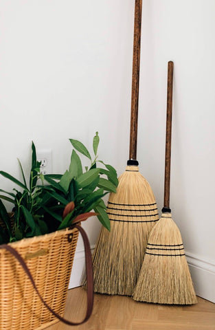 Child Size Handmade Broom
