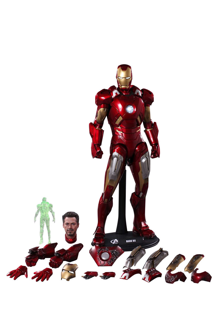 Hot Toys The Avengers Iron Man Mark VII MMS185