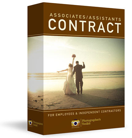 Associate + Assistant Photography Contract Kit