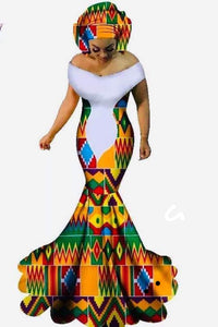 Ankara queen african dress
