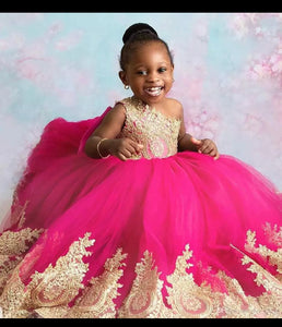 Princess baby tulle dress