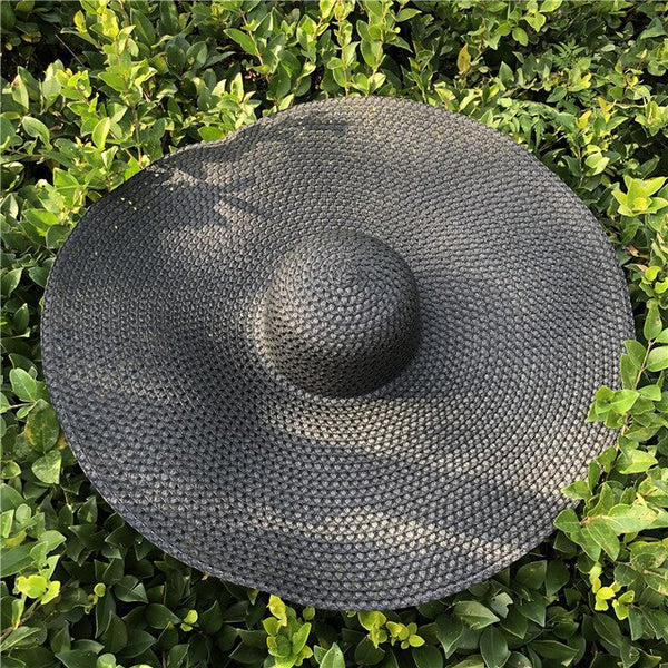 Oversized Hat Weave Breathable