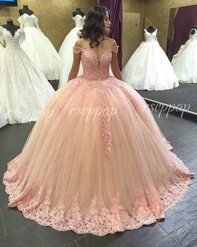 Luxury Long Quinceanera Dresses