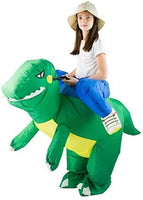 Bodysocks® Kids Inflatable Green Dinosaur Costume, One Size