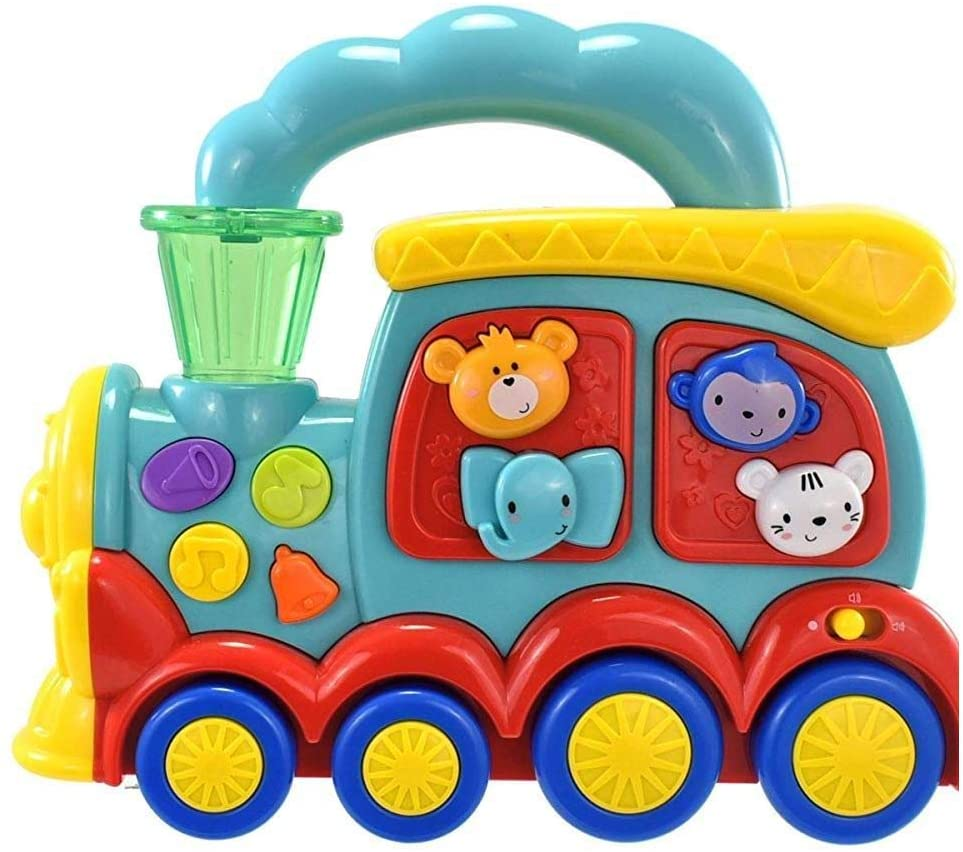 Toyland® Baby Animal Train Interactive Learning Toy - 20 Melodies & 10 Sound Effects Age 6 Months +