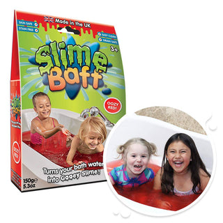 Slime Baff Bath Powder, Red 150g - 2 Bath Pack