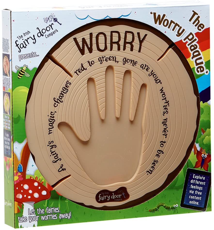 Interactive Worry Plaque