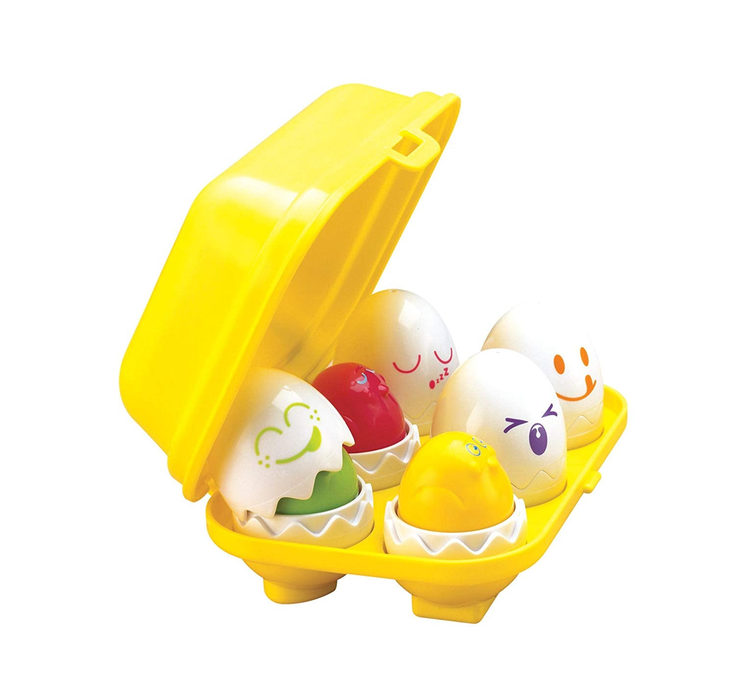 TOMY Toomies Hide and Squeak Eggs, Educational Shape Sorter Baby, For 6 Months & 1, 2 & 3 Year Old Boys & Girls
