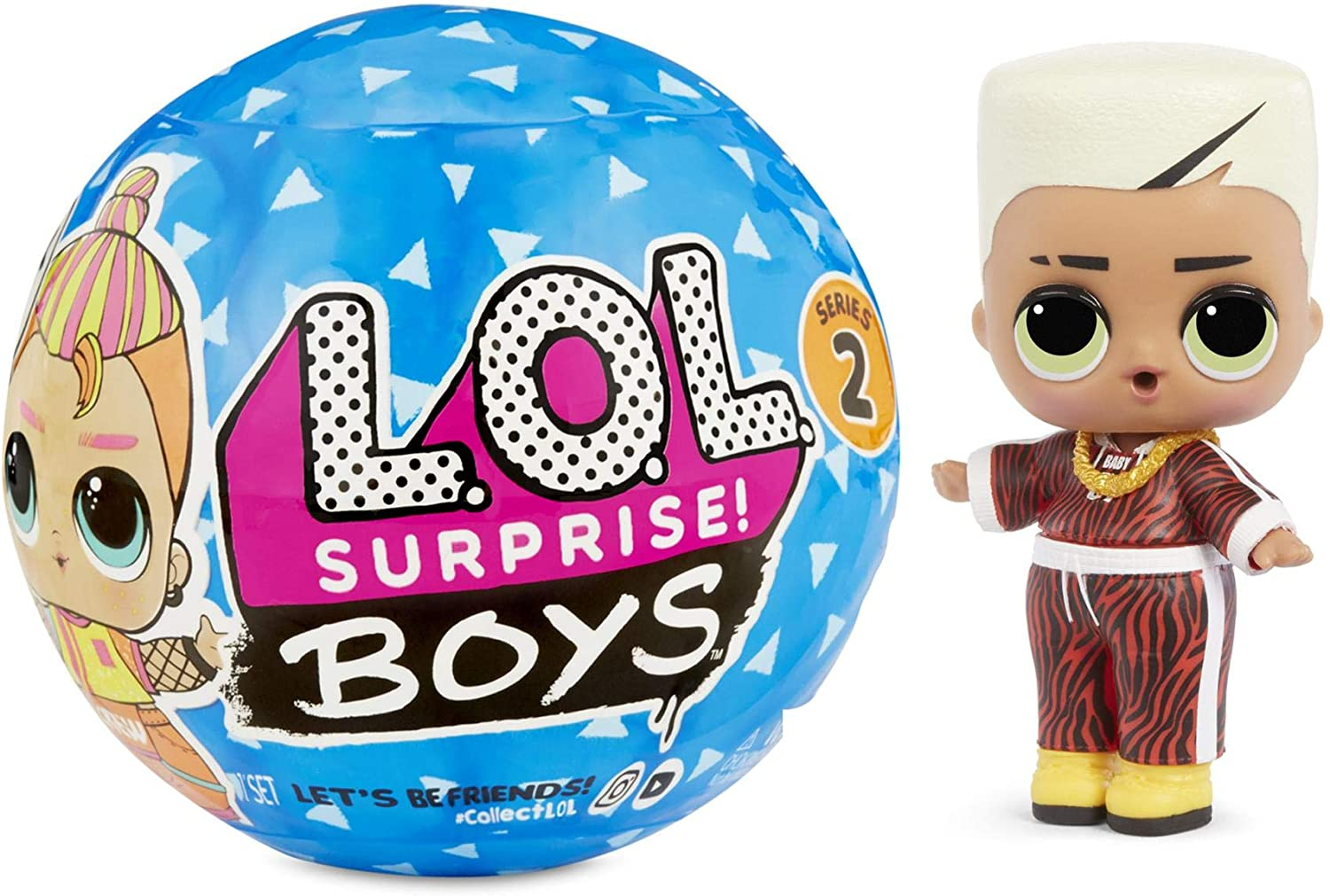 L.O.L. Surprise! 564799E7C Boys Series 2 Doll with 7 Surprises, Multi