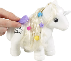 Crayola Colour and Style Unicorn Craft Kit with Washable Felt Tip Colouring Pens