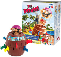 TOMY Pop Up Pirate Classic Children's Action Game, Action Game for Children 4, 5, 6, 7, 8 Year Old Boys & Girls