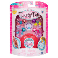 Twisty Petz 6044224 Babies Glitzy Bracelets, 4 Pack Set, Mixed Colours