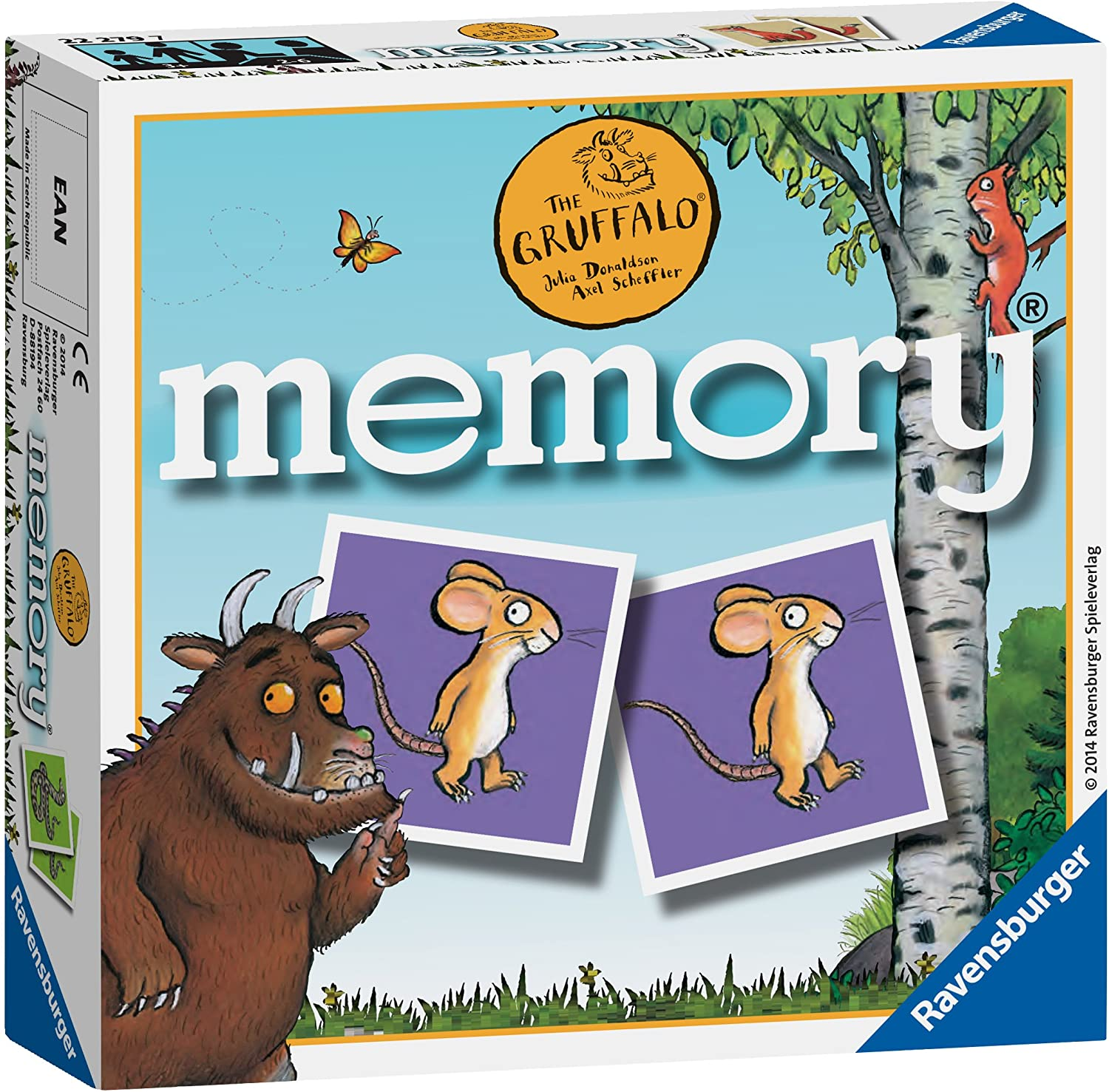 The Gruffalo Memory Game