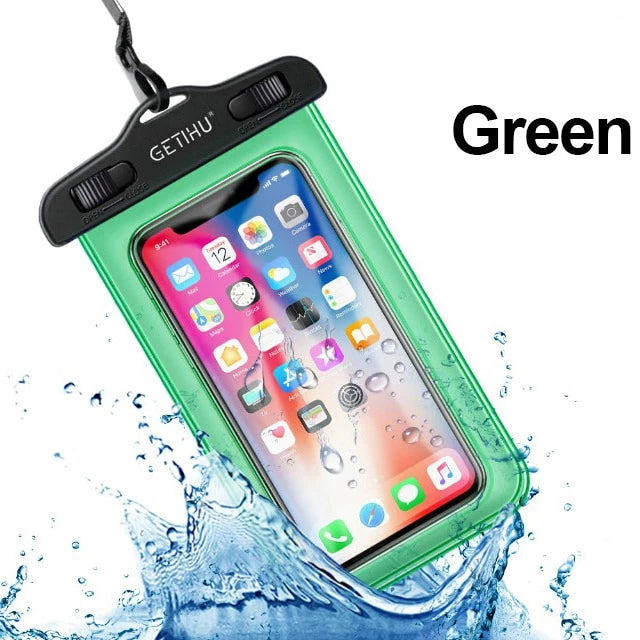 Universal Waterproof Phone Cases  For iPhone - Visuals Pro Wireless