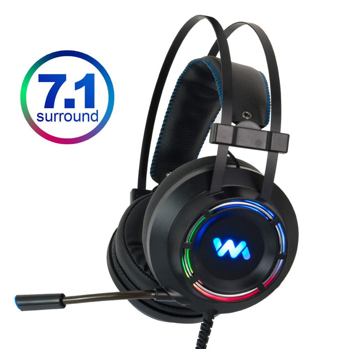 VPW™ 7.1 Professional Surround Sound Headphones with Microphone