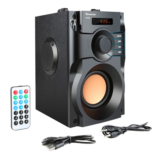 VPW™ Big Power Speaker Wireless Stereo LCD Display FM Radio