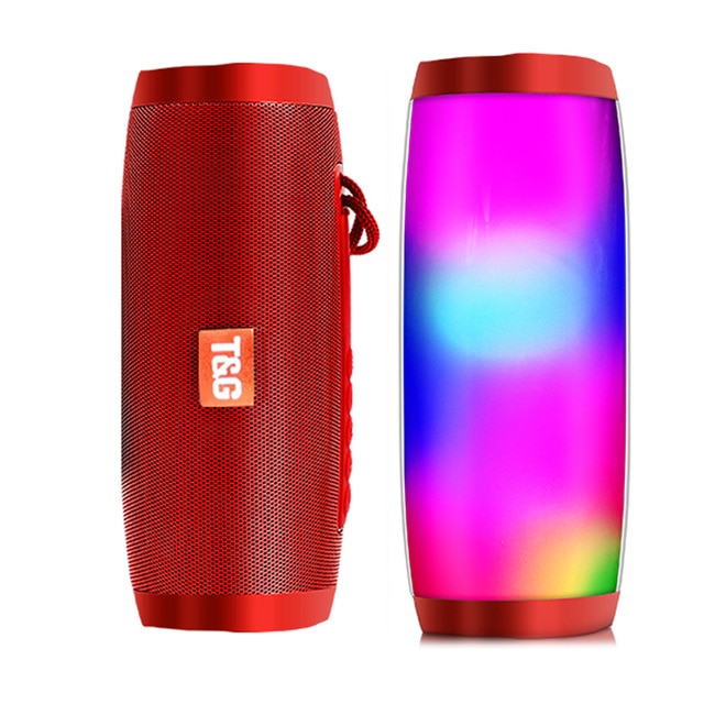 VPW™ T&G Portable Speaker Powerful High BoomBox Outdoor Bass with LED Light