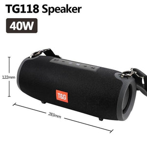 VPW™ T&G Bluetooth speaker outdoor wireless Column Subwoofer portable 3D stereo