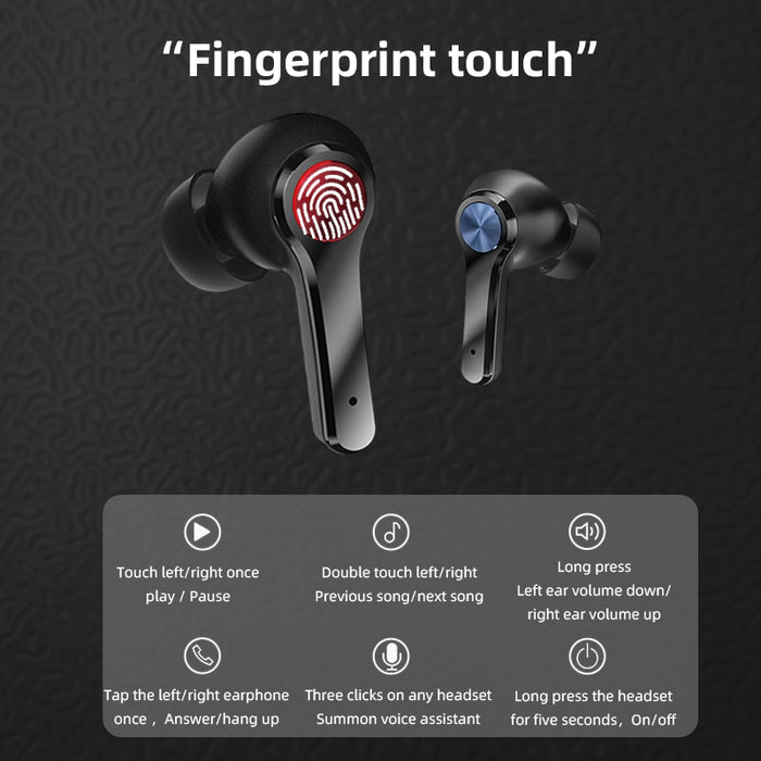 VPW™ Earbuds Wireless Stereo and Fingerprint Touch
