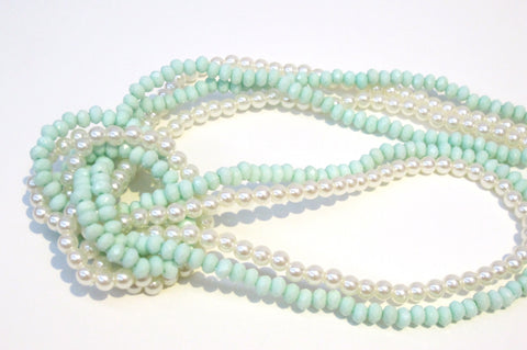 H&M Pearls and Beads Necklace