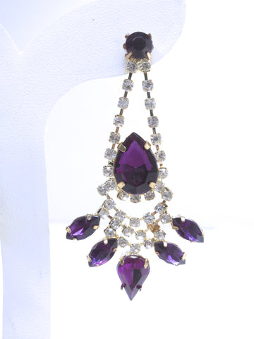 Amethyst Glow Earrings