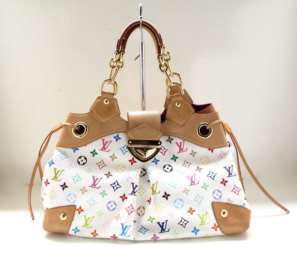 Louis Vuitton White Multicolor Ursula