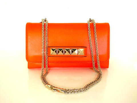 Valentino Vava Voom Neon Orange Bag
