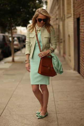 H&M Mint Dress