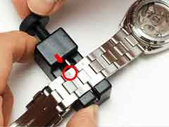 How to adjust the bracelets on SEIKO SARB033 and SARB035.