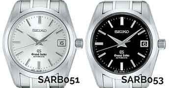 The differently colored dials are not the only differences between the SBGR051 and the SBGR053.