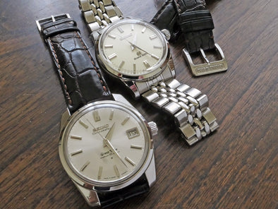 Change my leather strap to a watch bracelet for my Grand Seiko SBGW031