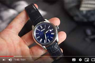 A customer kindly made a video about SEIKO Presage SARX059 Sippo enamel for us.