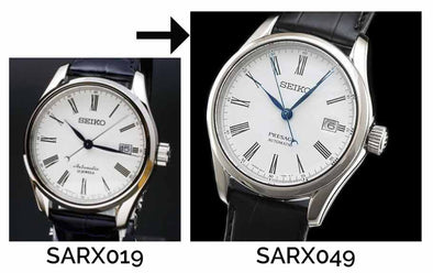 The difference between SARX019(Old model) and SARX049(New model)